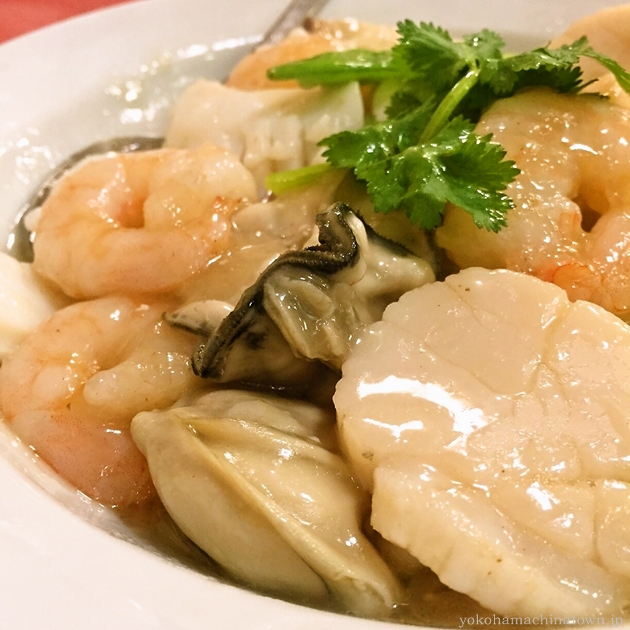 龍鳳酒家の海鮮豆腐