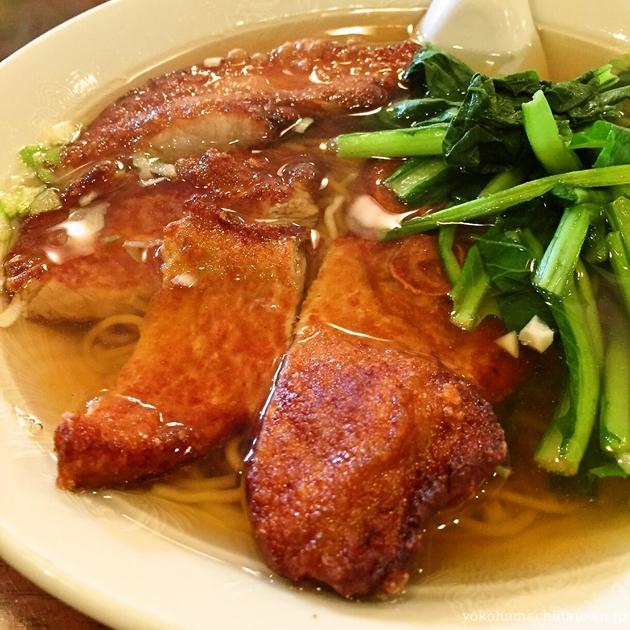 三和楼の排骨麺