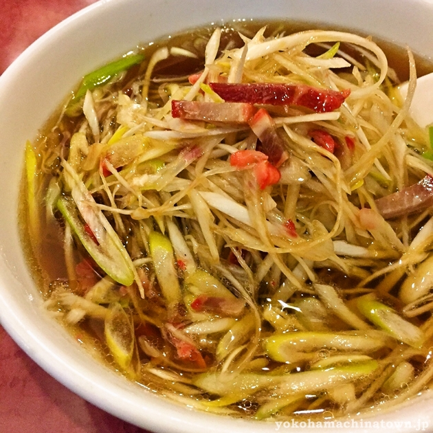 東林の京葱湯麺